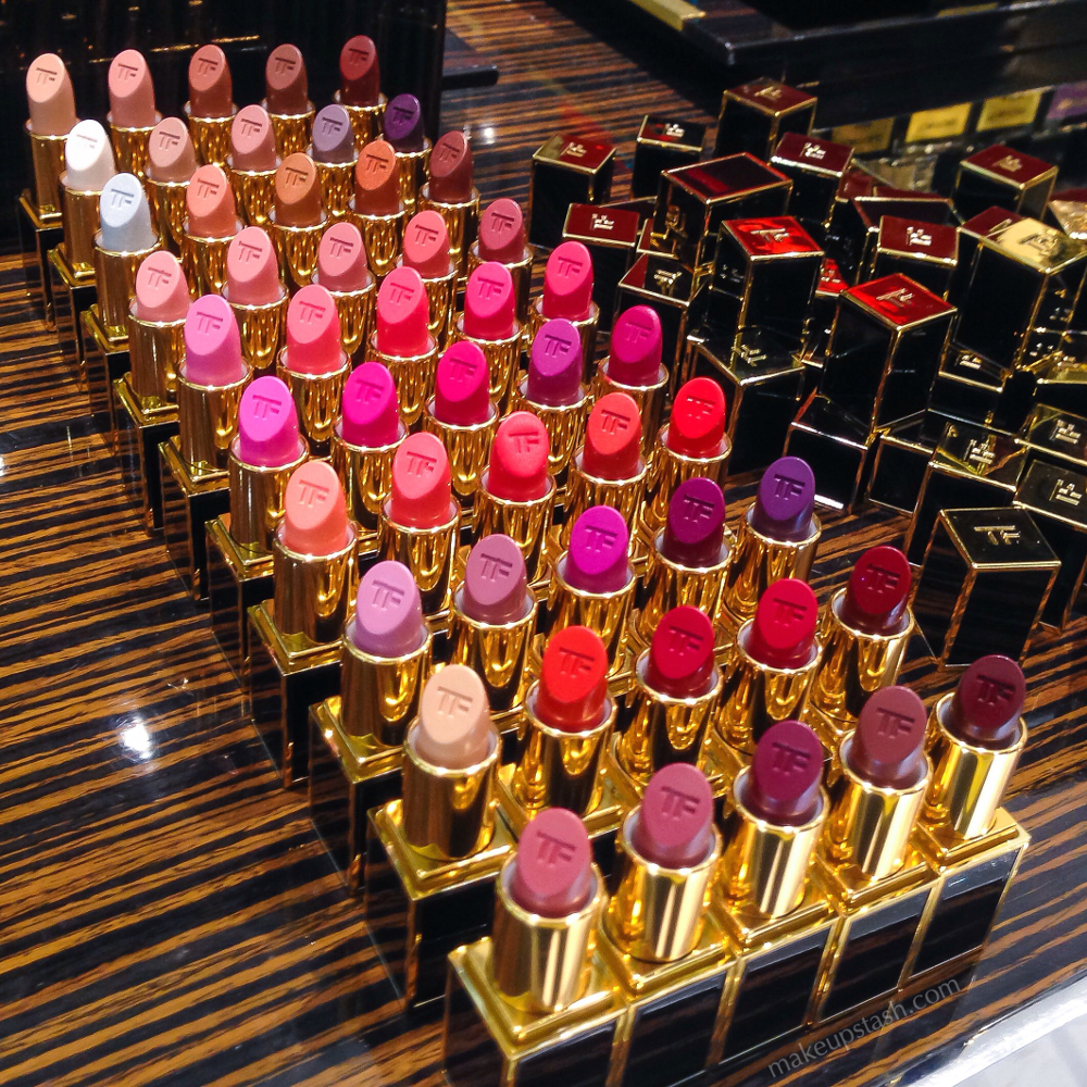 Tom Ford Beauty Lips & Boys Lip Color Collection