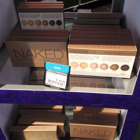 UD Naked Basics Palettes at Sephora SG