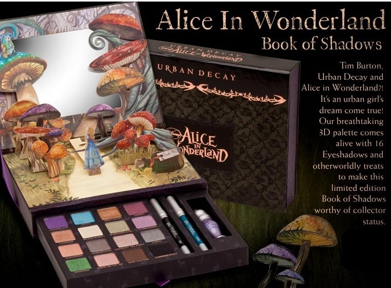 More on the Urban Decay Alice in Wonderland Book of Shadows in Singapore