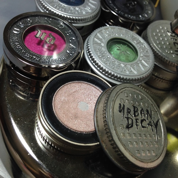 Makeup Memories | Urban Decay Eyeshadow Packaging Over the Years