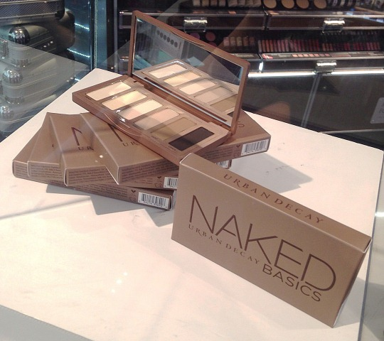 Urban Decay Naked Basics Display at Sephora SG