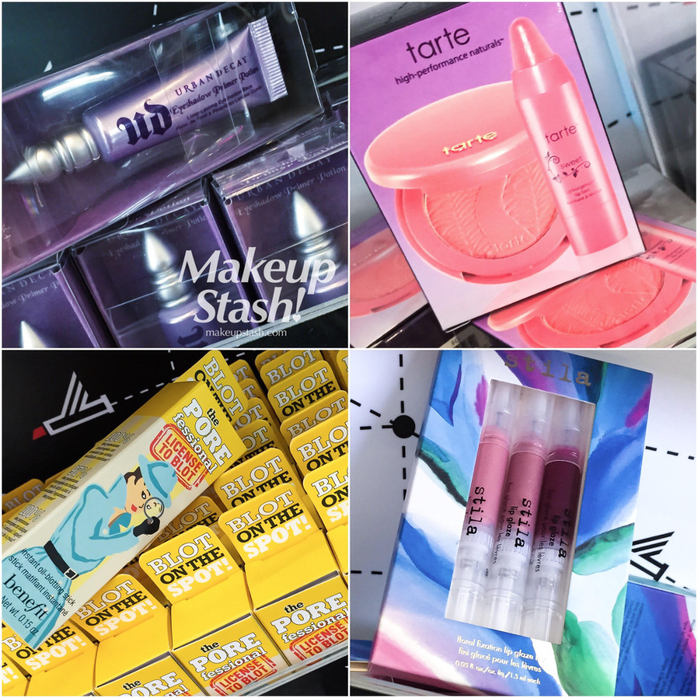 Urban Decay, Tarte, Benefit and Stila Makeup Minis at Sephora Singapore ION