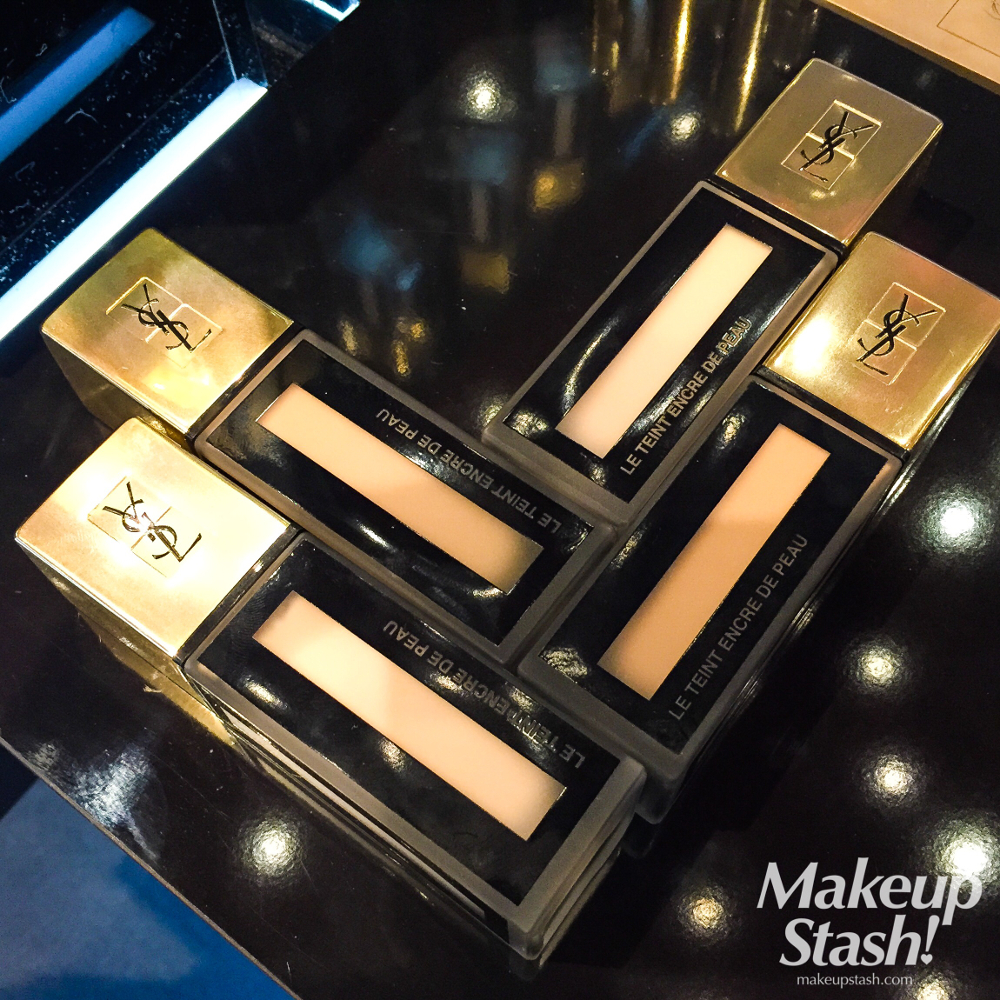 Yves Saint Laurent Beauté Fusion Ink Foundation in Singapore + A Quick Review of YSL Liquid Foundations