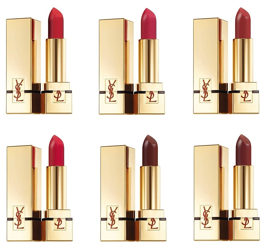 Yves Saint Laurent Beauté Rouge Pur Couture The Mats Lipsticks in Singapore