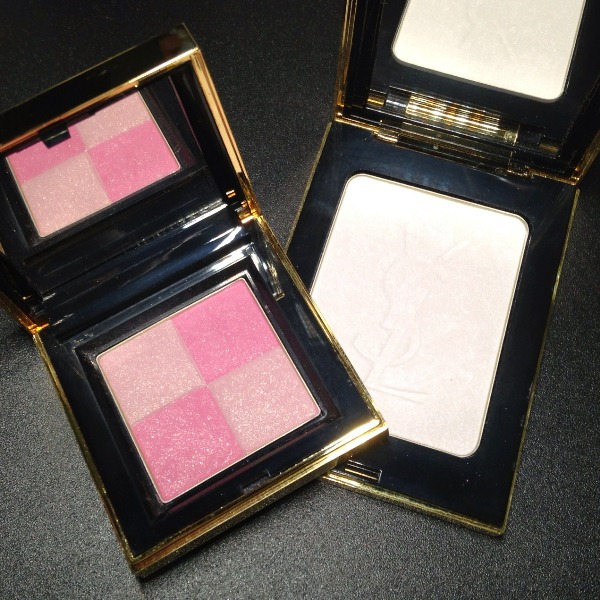Yves Saint Laurent Beaute Northern Lights Radiant Blush and Highlighter